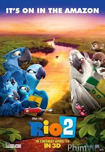 Vẹt Đuôi Dài 3d - Rio 2 3d poster