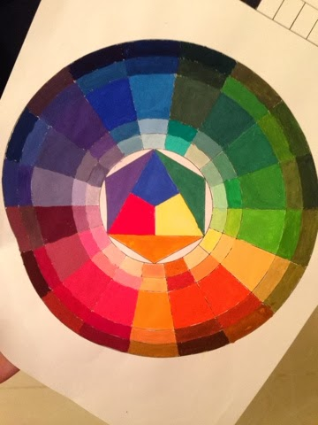 Year 2 – CCS: Color Theory, Project 1