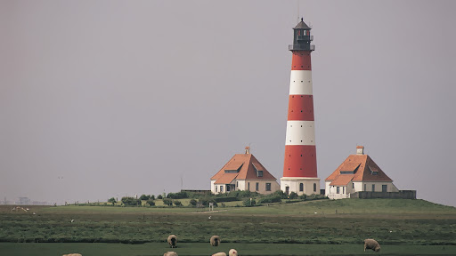 Lighthouse, Westerhever, Schleswig-Holstein, Germany.jpg