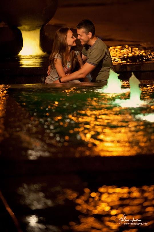 Свадебный фотограф в Запорожье, фотограф Love Story, фотосессия в ночном городе, ночная фотосъёмка, фотограф Светлана Минакова