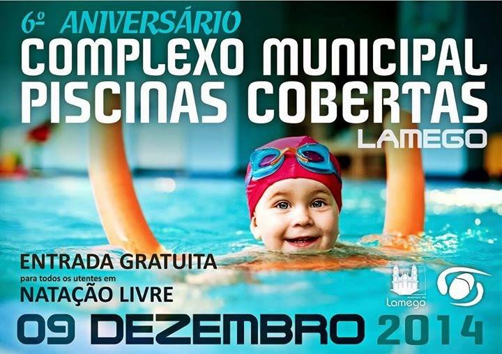 Entrada gratuita celebra aniversário das Piscinas Cobertas