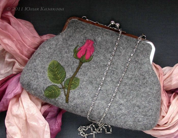 Войлочная сумка Юлии Казаковой