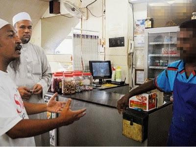 BUKAN MUSLIM JAIPk Serbu Restoran Perdaya Guna ISLAM
