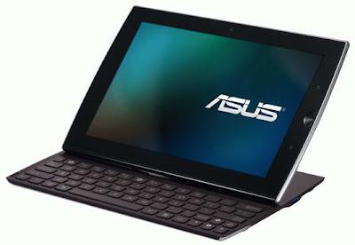 ASUS Eee Pad Slider Tablet images