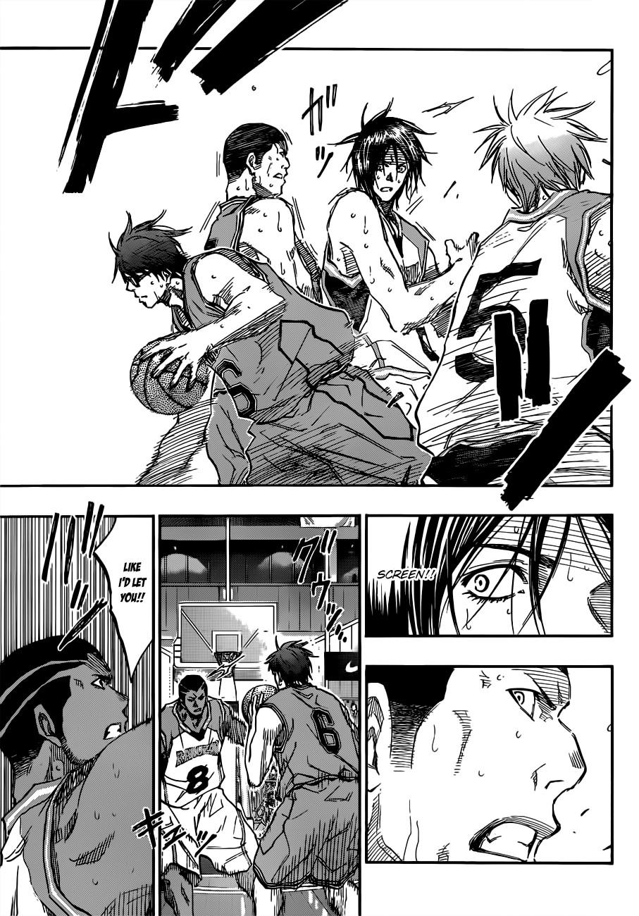 Kuroko no Basket Manga Chapter 177 - Image 15