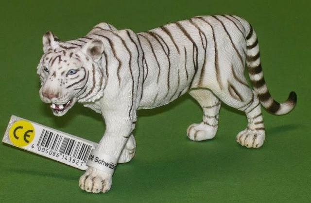 Đồ chơi Mô hình Schleich Tiger White - Hổ Trắng có thiết kế chân thực đẹp mắt