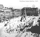 foto :  Zagreb, Trg Bana Josipa Jelačića, 1947.
