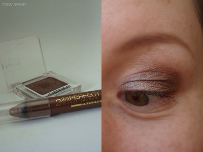 "24h Perfect Stay Eye Shadow + Liner von Astor in der Farbe ""100 Creamy Taupe"""