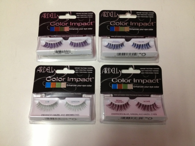 4deeeefa3a3 They come in these four colours to suit your eye colour, Plum, Blue, Green  and Wine. These Demi Wispies ...
