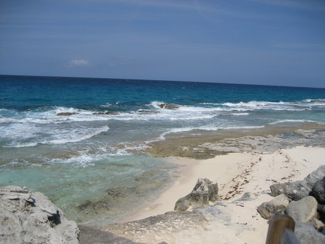 view from the seaward side of Long Island at Stella Maris Resort