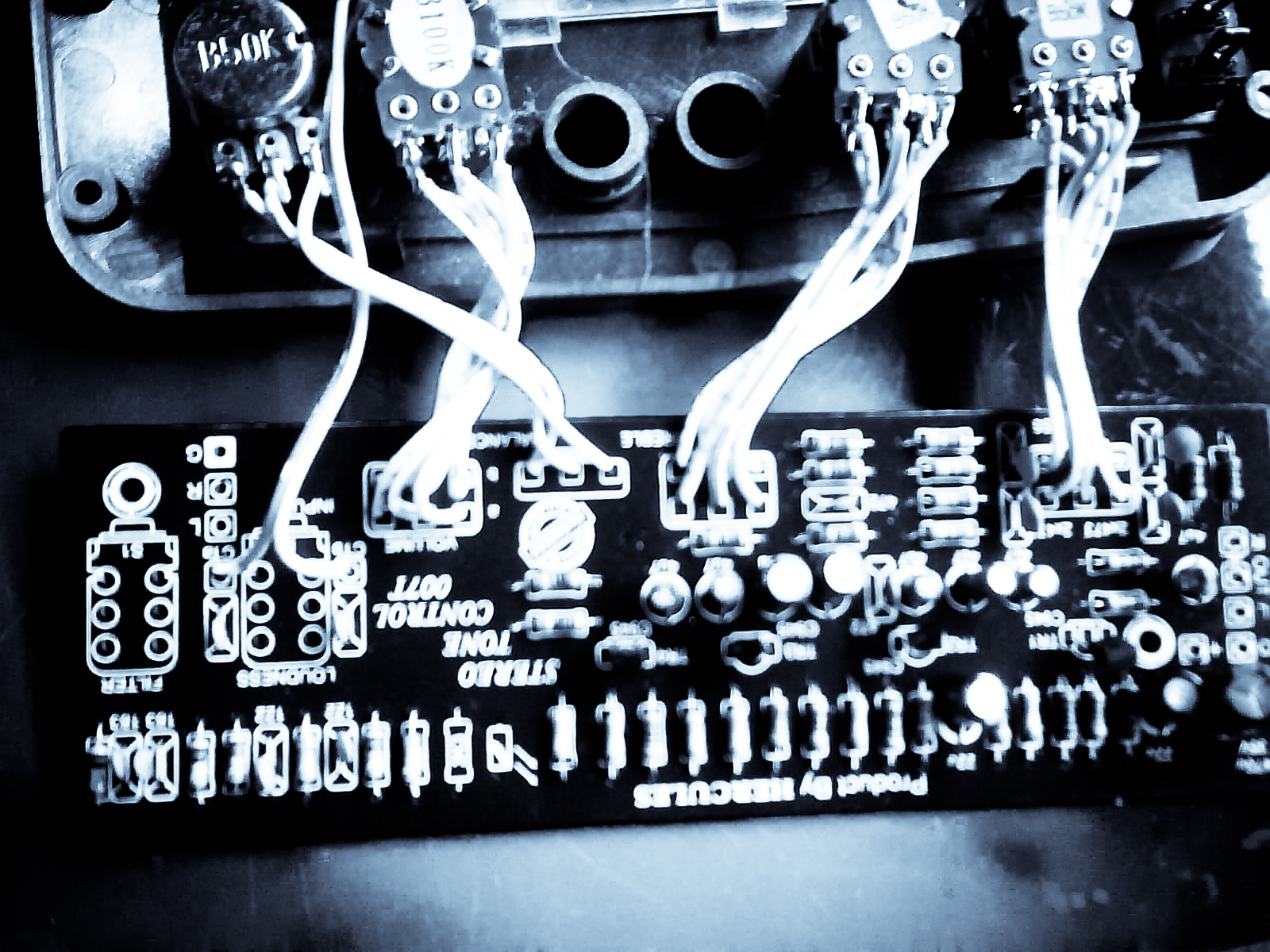 Stereo Tone Control Circuit Diagram T Lm1040 Design Electronic Project With Filter Bass Treble