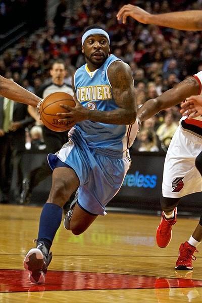 Wearing Brons Nike LeBron 9 iD Sightings Around the NBA