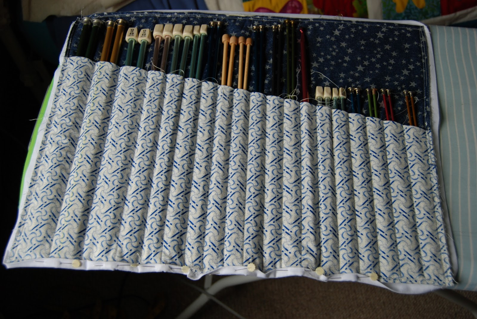 Knitting Needle Bag Patterns Free : Two Tricks for the Price of One! Sew BitterSweet Designs