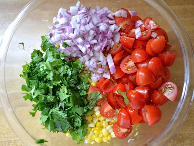 salad ingredients