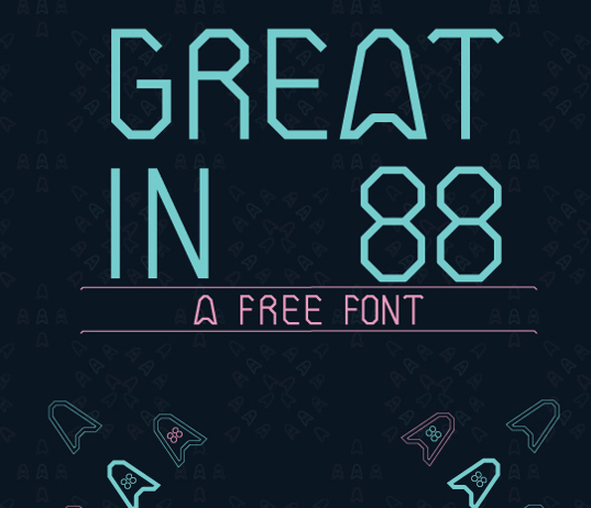 Great In 88 Free Fonts