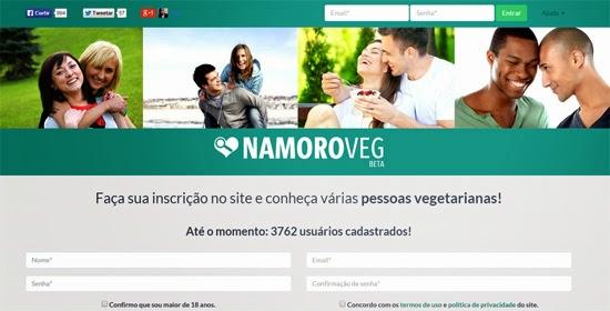 Como encontrar namorado vegetariano - rede social Namoro Veg