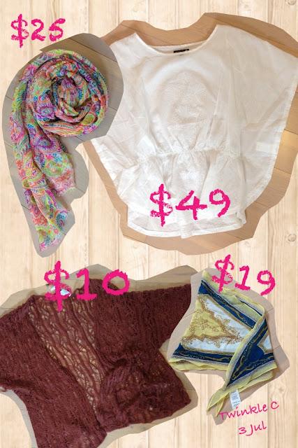 [Outfit] Cotton on crazy sale! $103 做出7個民族變化!