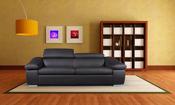 mẫu ghế sofa da thật số 11