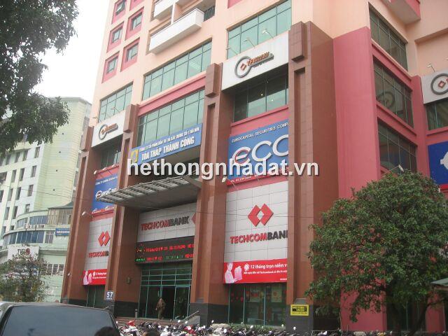 Mua bán nhà đất Hà Nội_Cho thuê sàn văn phòng 57 Láng Hạ