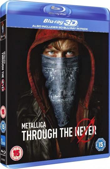 Filme Poster Metallica: Through the Never BRRip XviD & RMVB Legendado