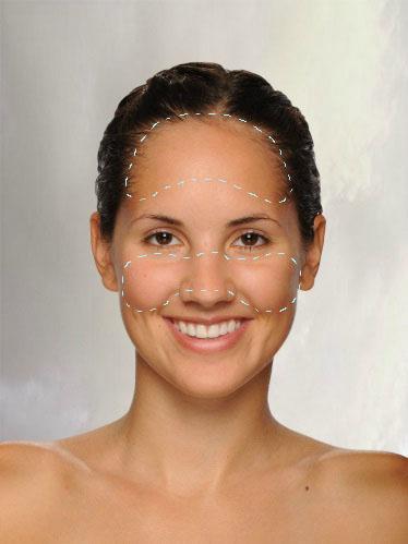 Onde passar maquiagem para deixar o rosto bronzeado