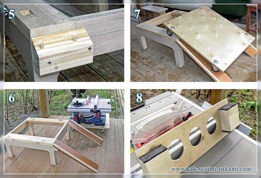 как сделать стол для циркулярки