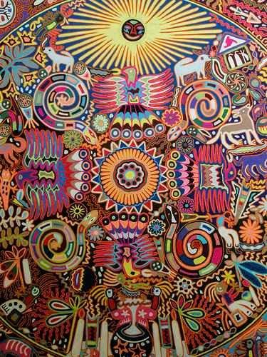sztuka Huicholi