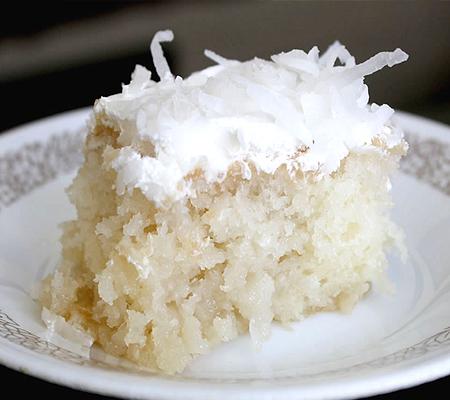 Chinese New Year Cake White Holes