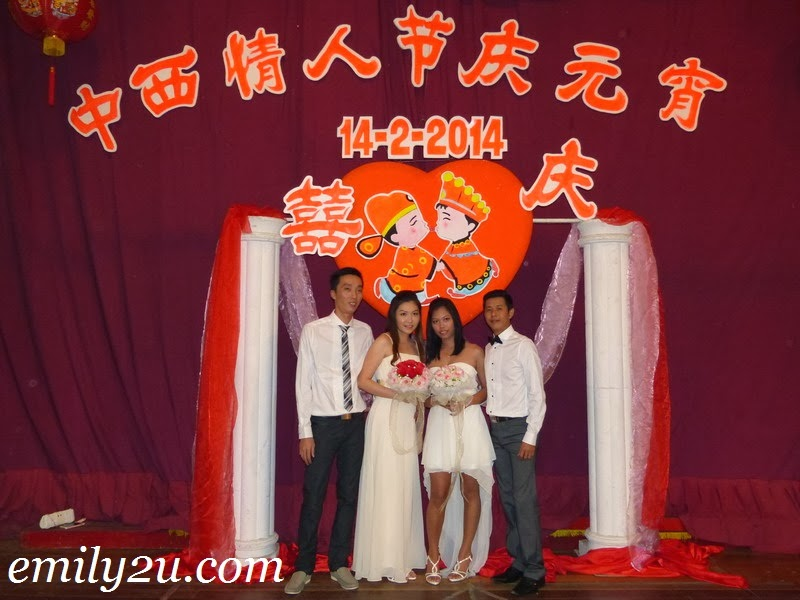 2014 Chap Goh Meh & Valentine's Day Mass Wedding