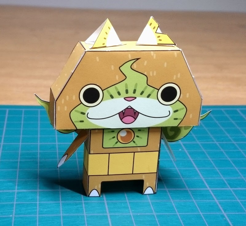 Yokai Watch Kiwinyan Papercraft