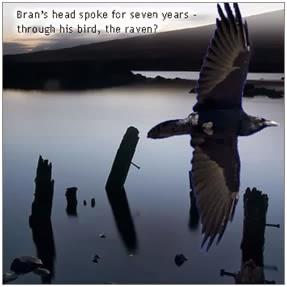 Вороны, охраняющие Лондонский Тауэр и всю Великобританию — это птицы Брана Благословенного