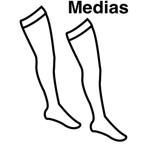 Medias Dibujo Pinto Dibujos: ...
