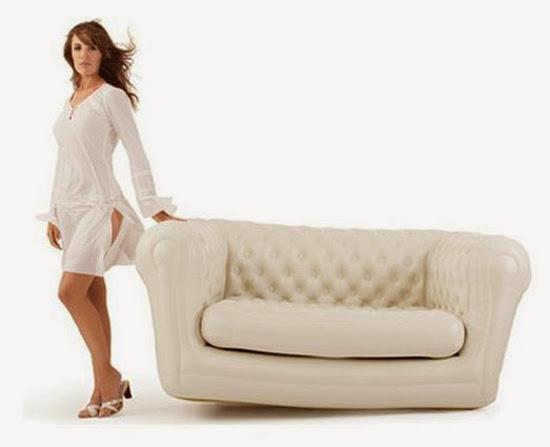 Muebles hinchables.