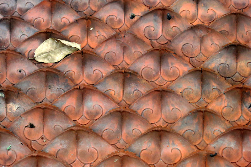 Roof tiles, Temple of Literature