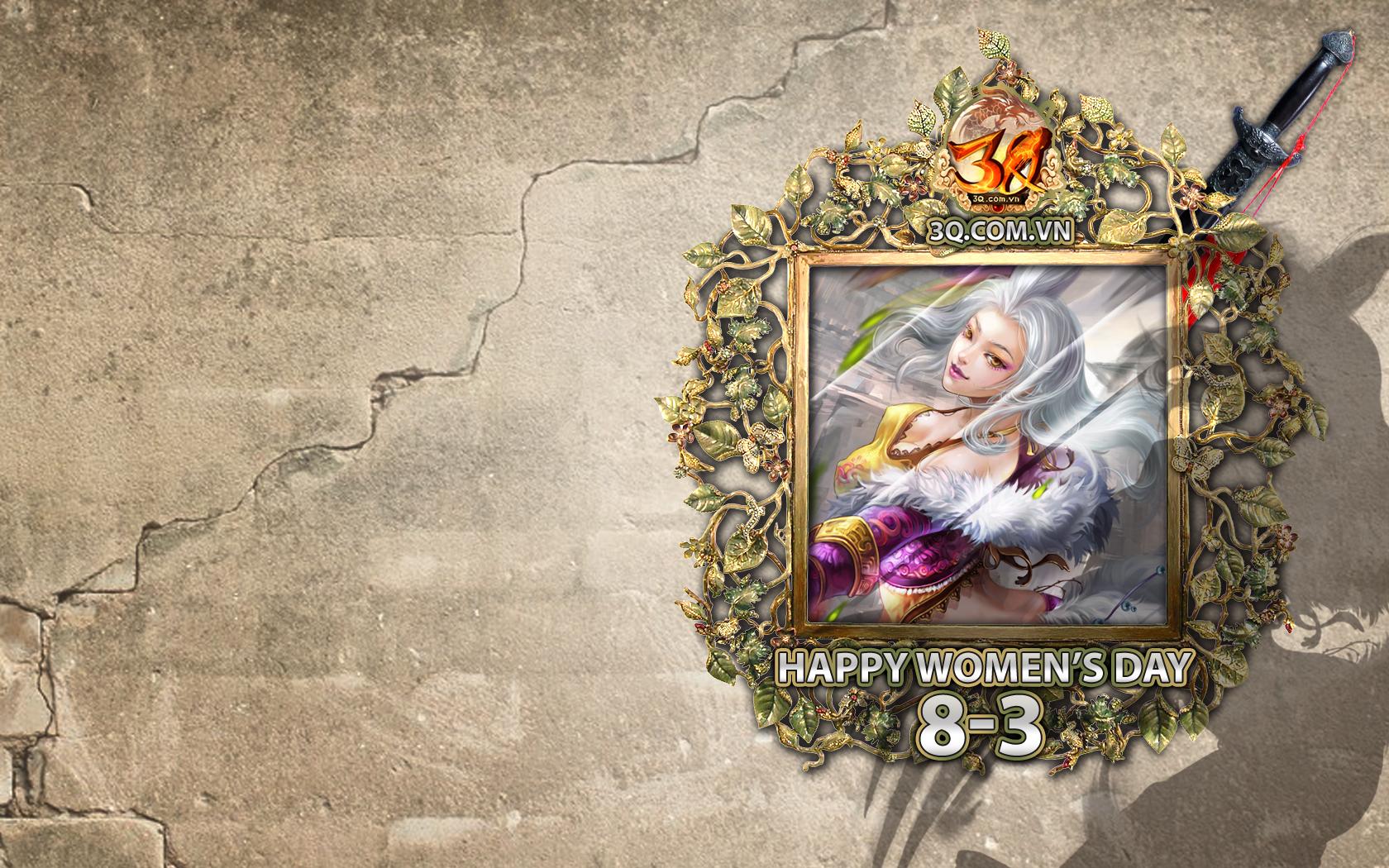 Mộng Tam Quốc tung hình nền đón ngày Quốc tế Phụ nữ