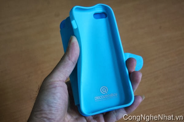 Bao da silicon cho IPHONE 5C