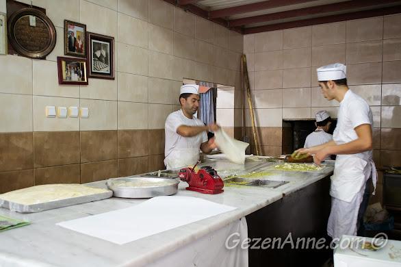 katmer yapımı, Zekeriya Usta Gaziantep