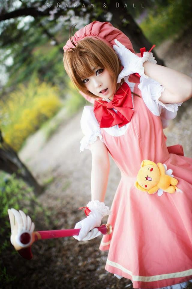 Tomia cực dễ thương với cosplay Sakura - Ảnh 16