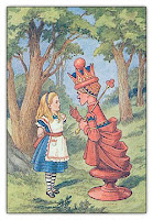 Tenniel illustration, the Red Queen