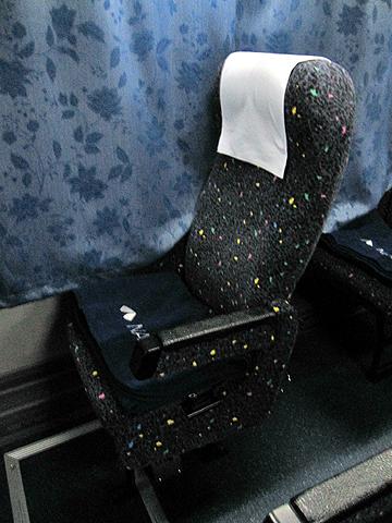 南海バス「サザンクロス」長岡・三条線 ・110 シート