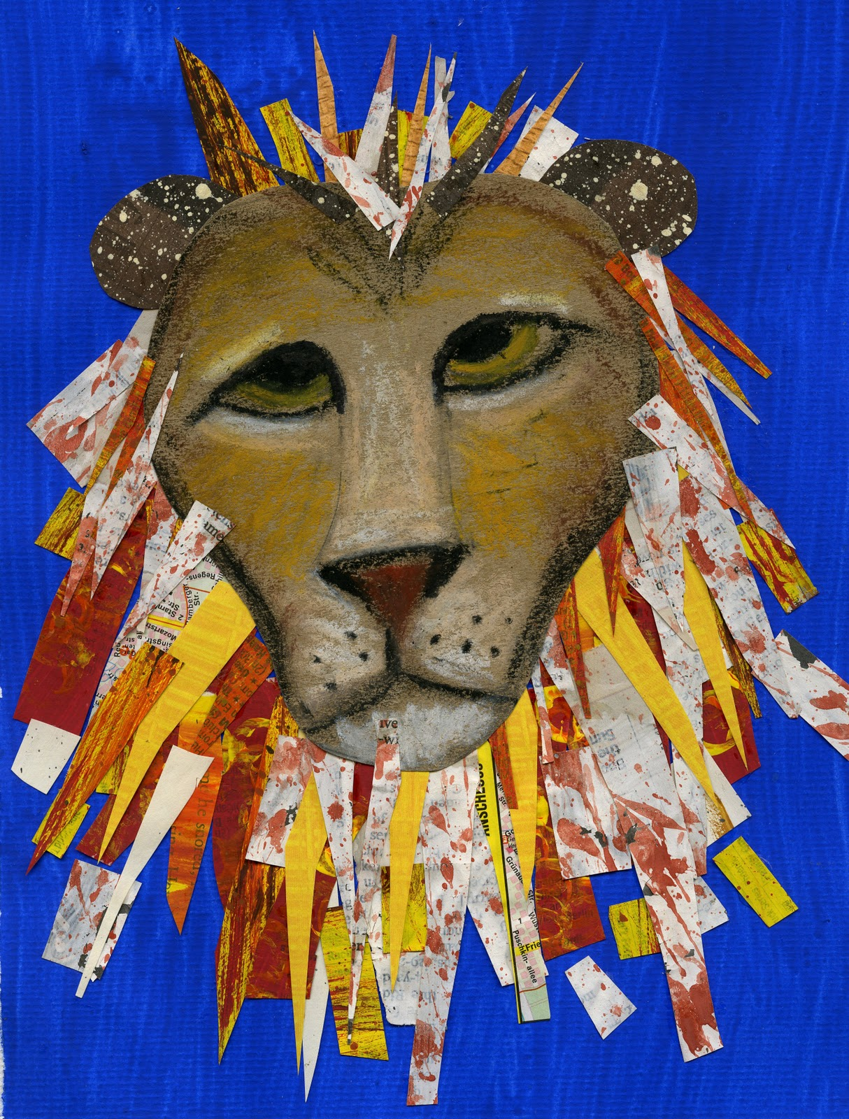 that artist woman: March Lion or Lamb Art Project