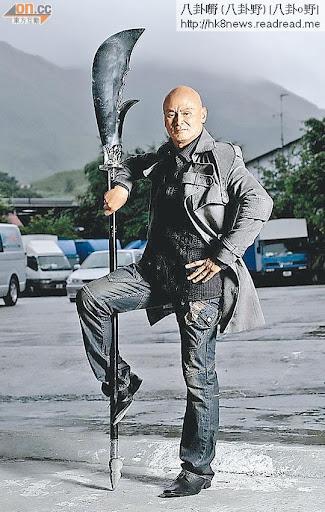 武打明星劉家輝入行超過30年,更在國際影壇打響名堂。