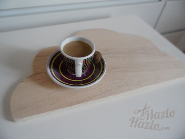 Tabla de madera DIY