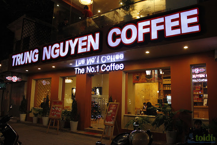 Review cafe Trung Nguyen 1A Hai Ba Trung