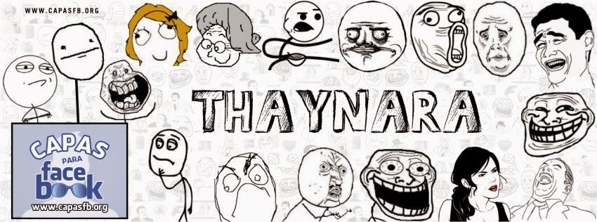 Capas para Facebook Thaynara