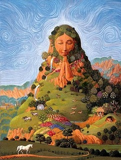 Pachamama Incan Earth Mother Of Peru Image
