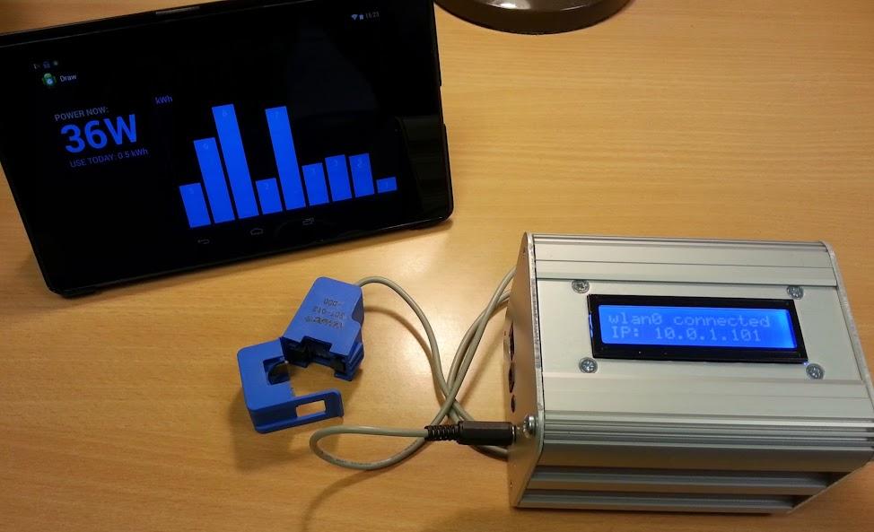 emonPi Raspberry Pi Energy Monitoring Shield - Prototype Dev Update