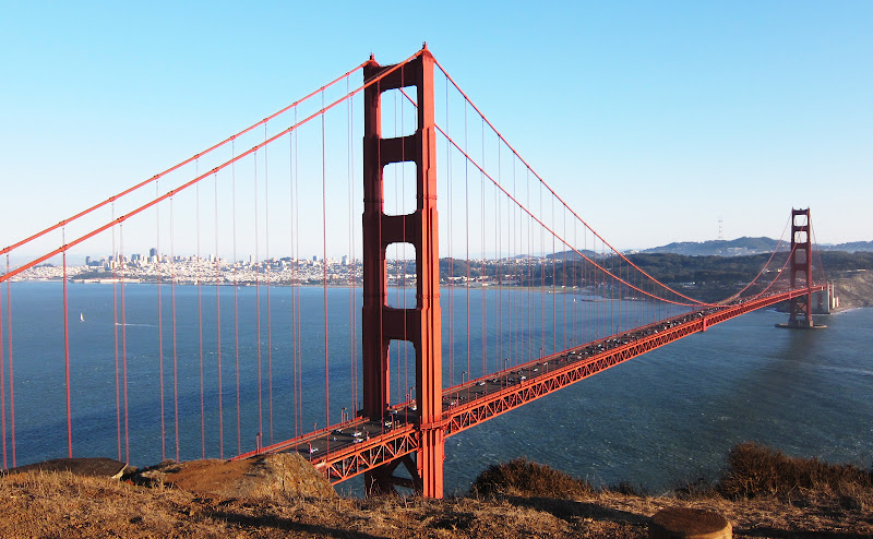 Golden Gate Bridge from Marin Headland