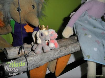 Cómo hacer un columpio para muñecos, muñecas o peluches.
