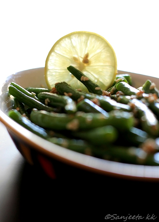 Recipe | Healthy Snack of Roasted Green Beans - Of Fun, Food and Blogger Meets
